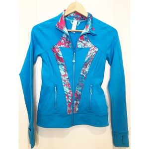 Ivivva Perfect Your Practice Blue Jacket